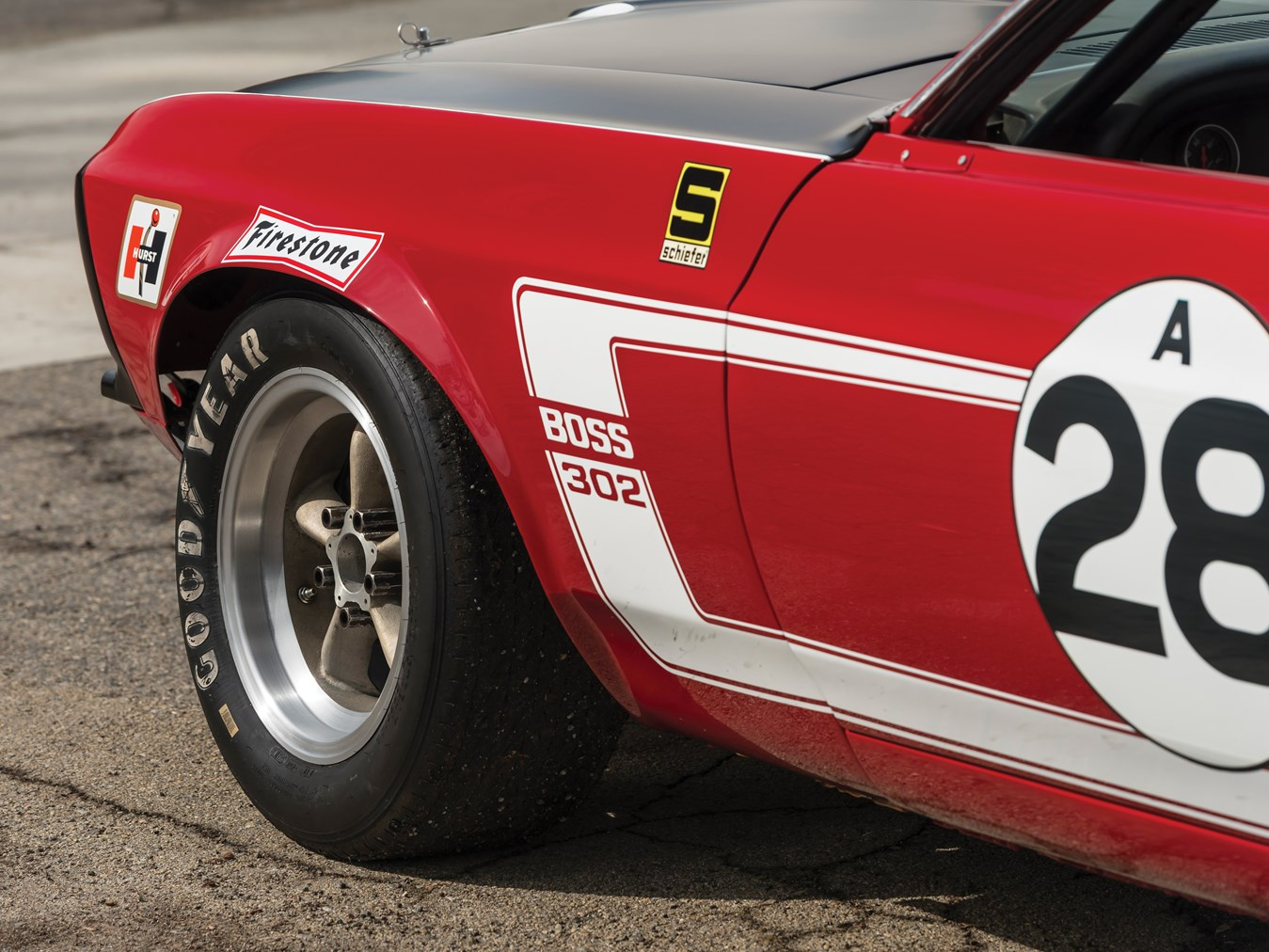 RM Sotheby\'s - 1969 Tasca-Ford Mustang Boss 302 Trans Am \
