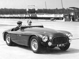 1951 Ferrari 340 America Barchetta by Touring - $Chassis 0116/A at Montlhéry in 1952.