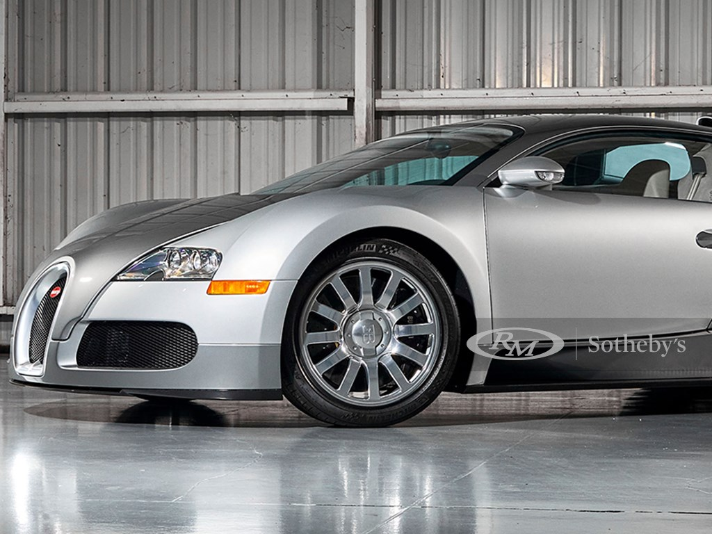 2008 Bugatti Veyron 16.4 Offered at RM Sothebys Monterey Live Auction 2021
