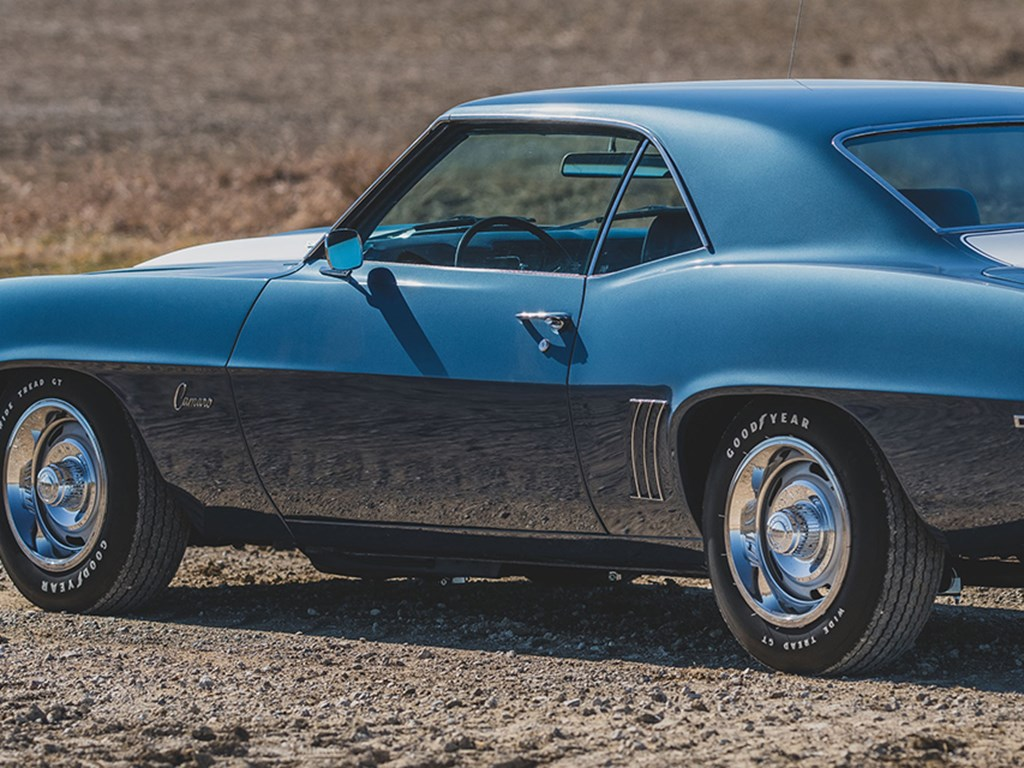 1969 Chevrolet Camaro Z28 offered at RM Sothebys Online Only Open Roads April Auction 2021