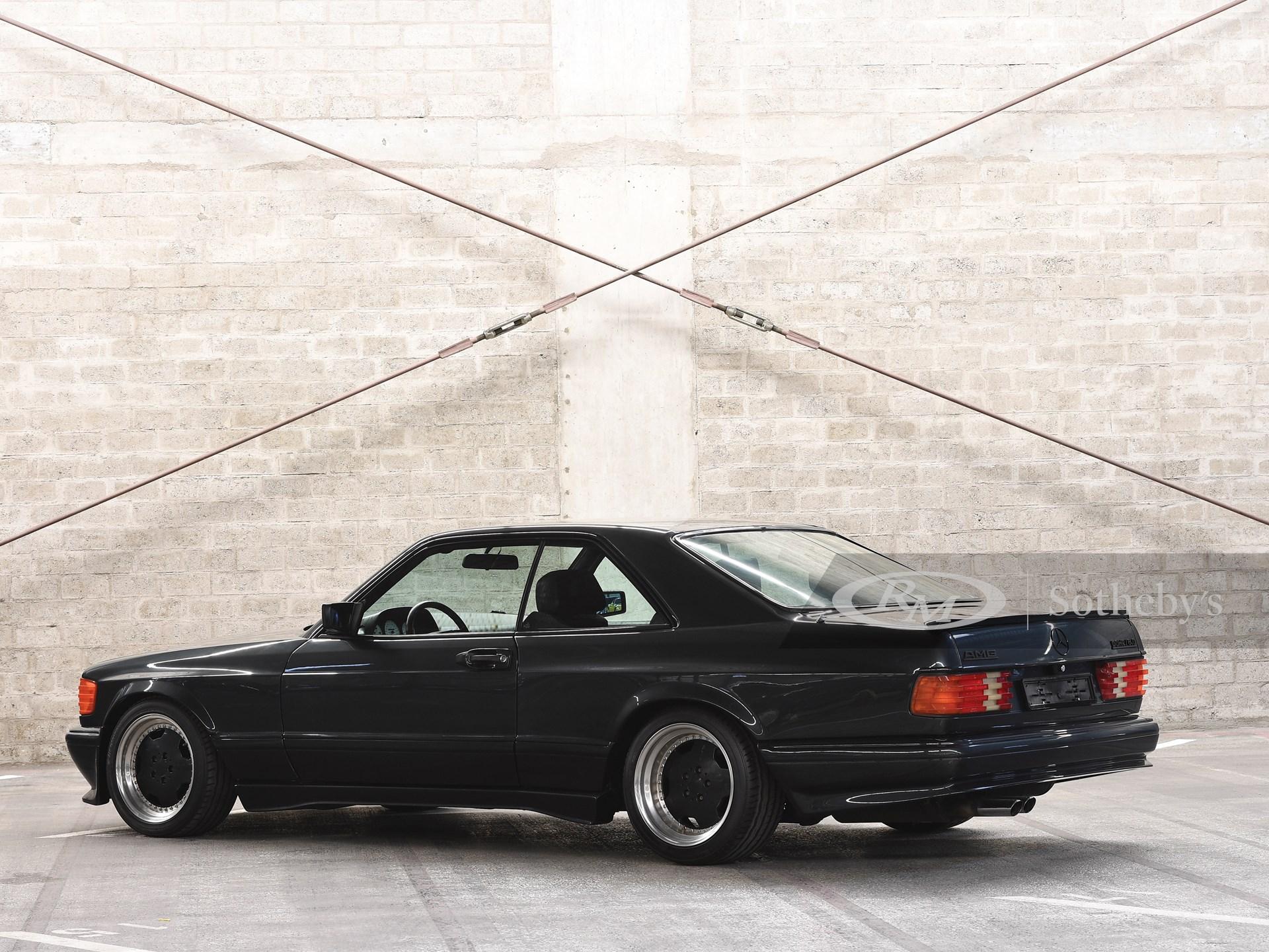 1989 Mercedes-Benz 560 SEC AMG 6.0 'Wide-Body'  -