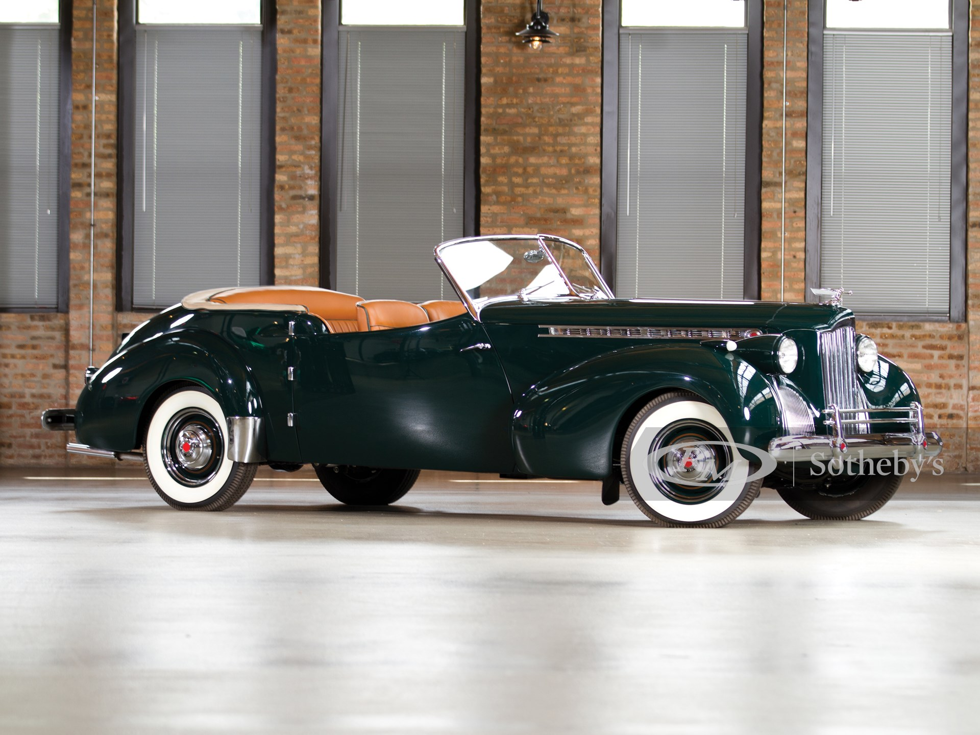 1940 Packard Super Eight One-Sixty Convertible Coupe by Rollson Inc.