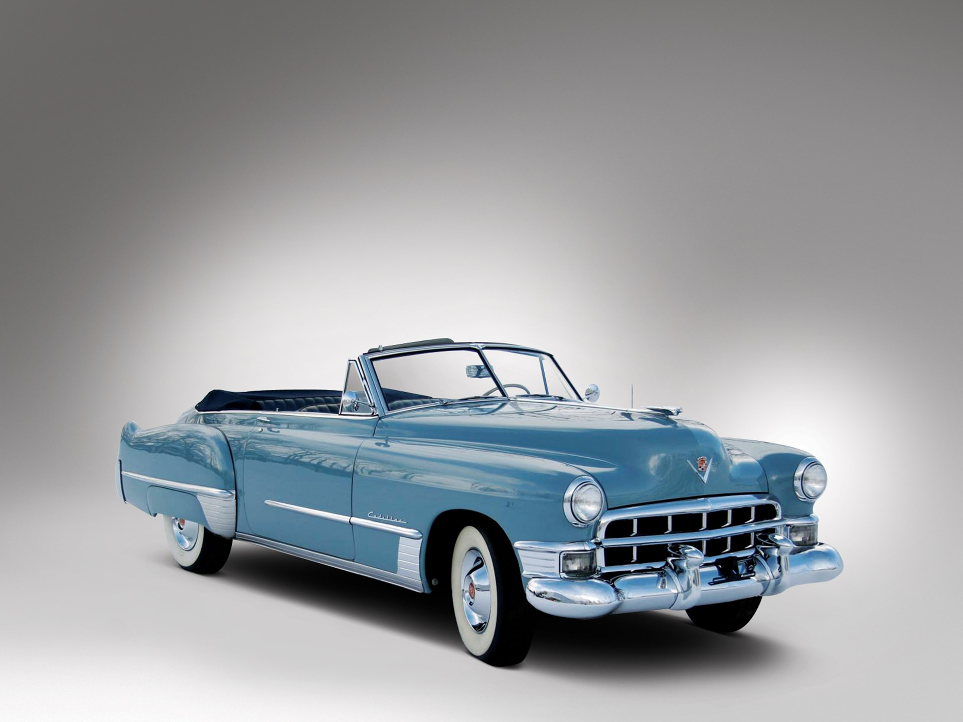 Rm Sothebys 1949 Cadillac Series 62 Convertible Coupe Ford Crown Victoria