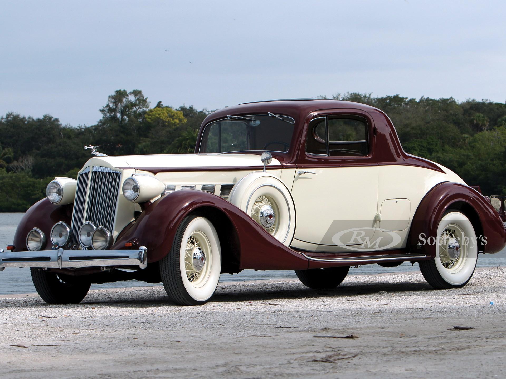1936 Packard Super Eight 2/4-Passenger Coupe