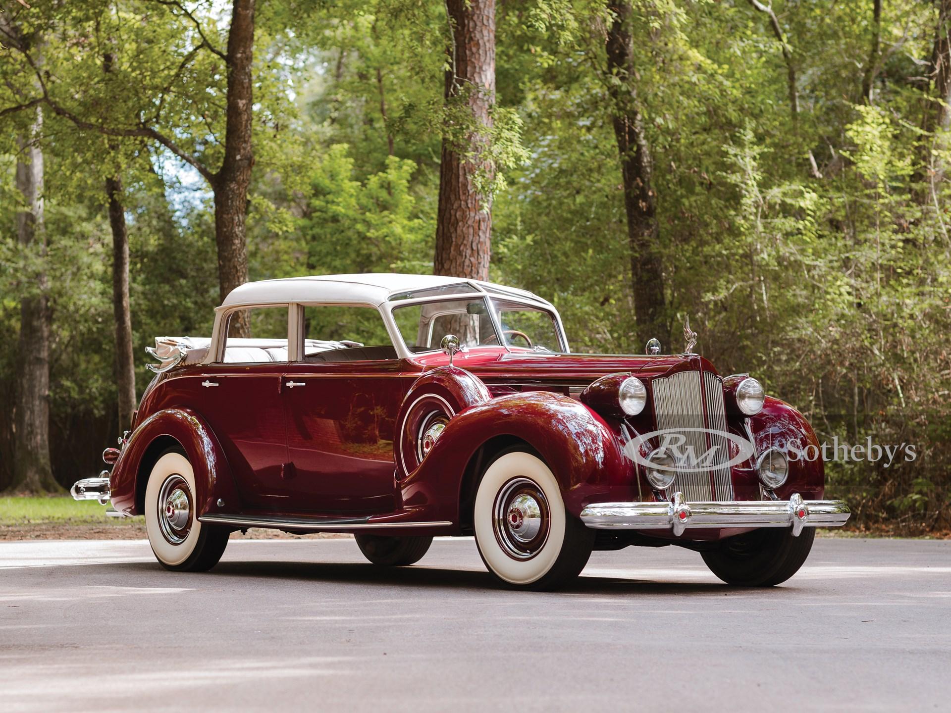 1938 Packard Twelve Touring Cabriolet by Brunn