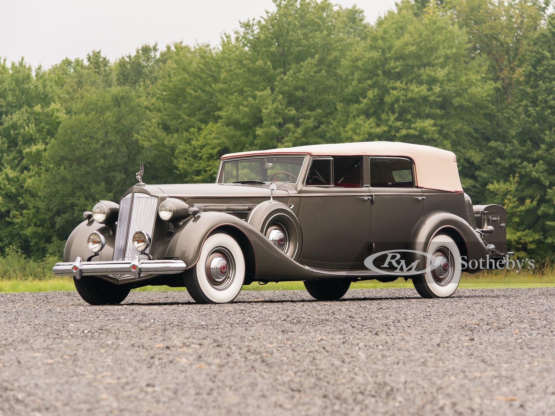 1937 Packard Twelve Convertible Sedan