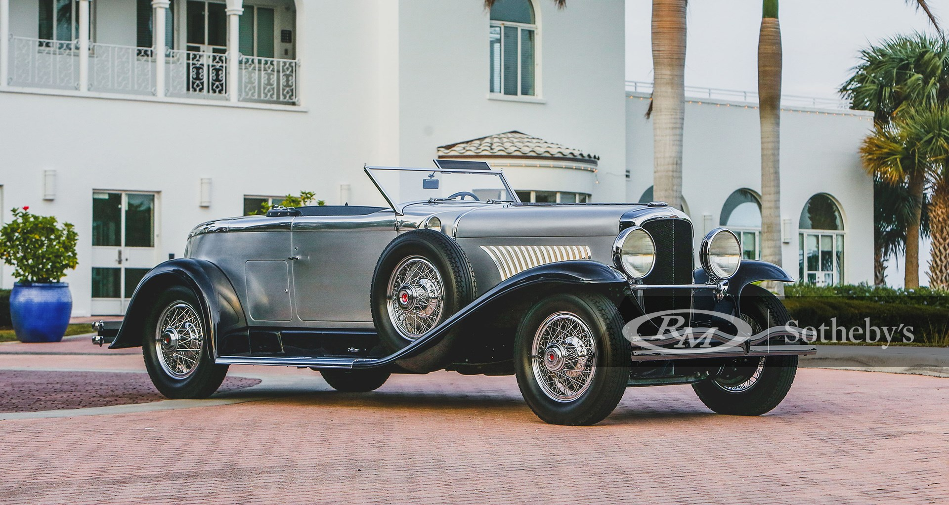 1929 Duesenberg Model J Disappearing Top Torpedo by Murphy available at RM Sotheby's Amelia Island Live Auction 2021