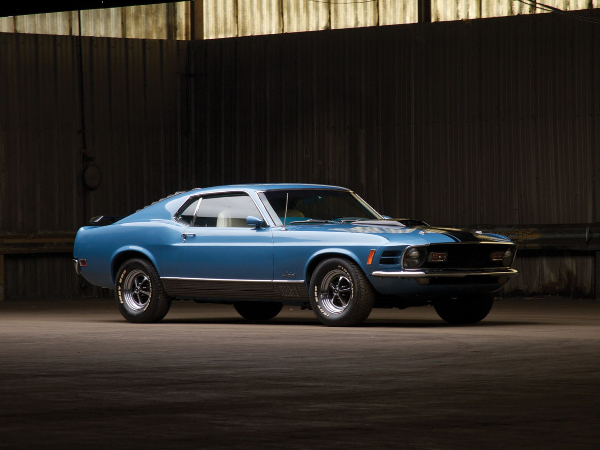 Rm Sothebys 1970 Ford Mustang Mach 1 Auburn Spring 2014