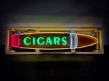 Cigars Custom-Made Neon Tin Sign - $