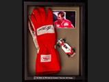 Al Unser Jr Race Worn and Signed Gloves - $