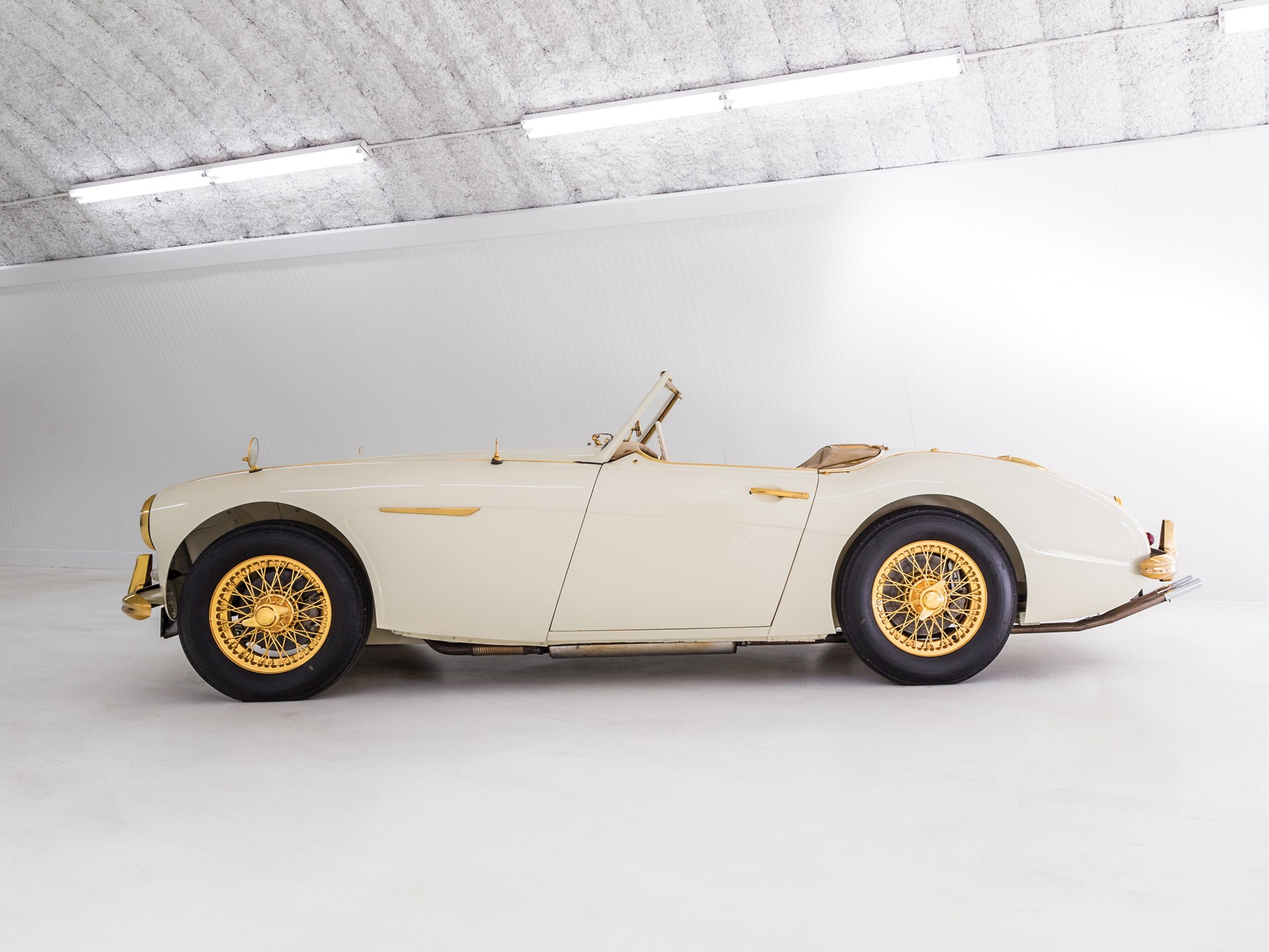 "1958 Austin-Healey 100-Six ""Goldie"""