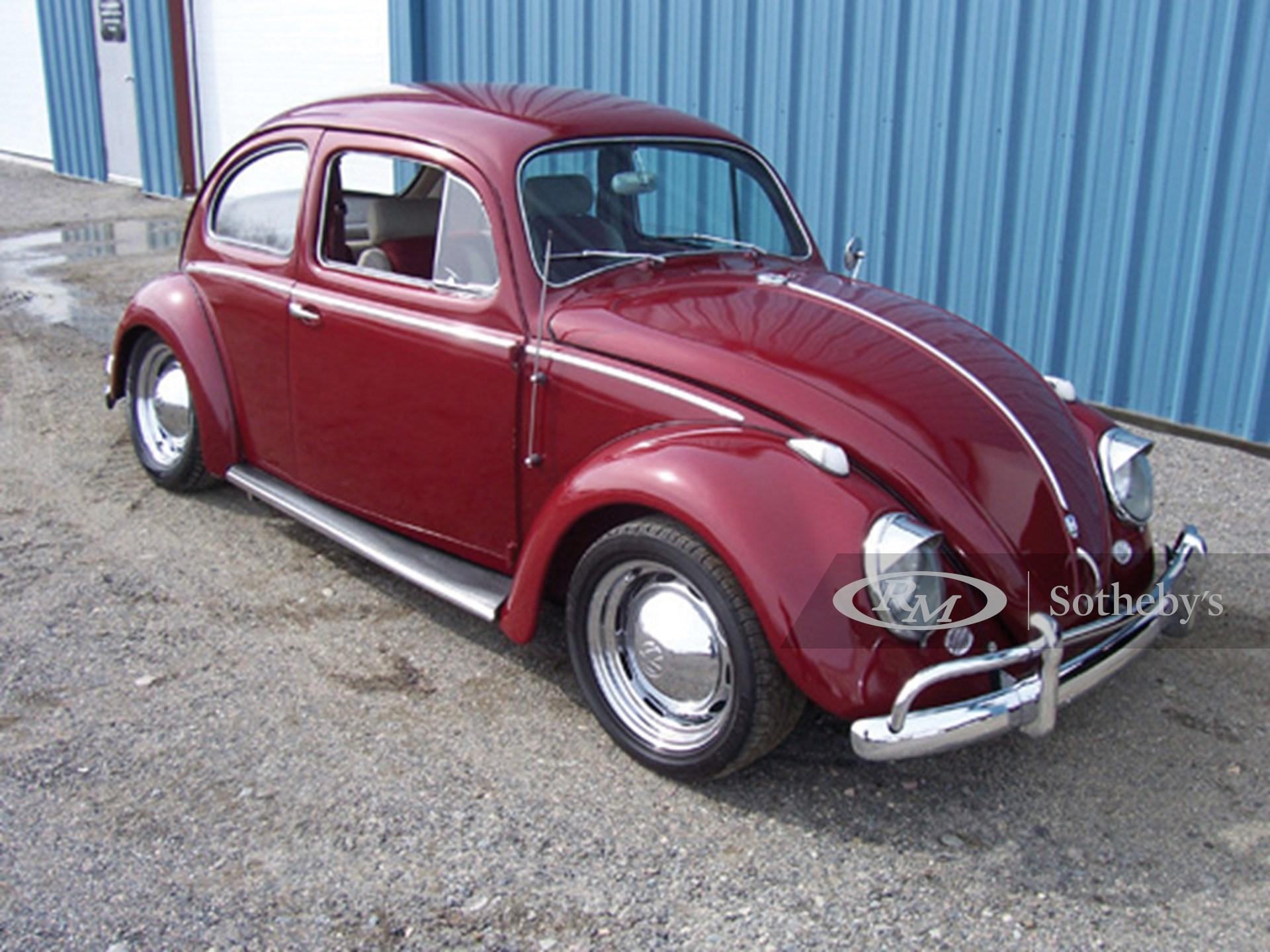 1958 Volkswagen Beetle 2D  -