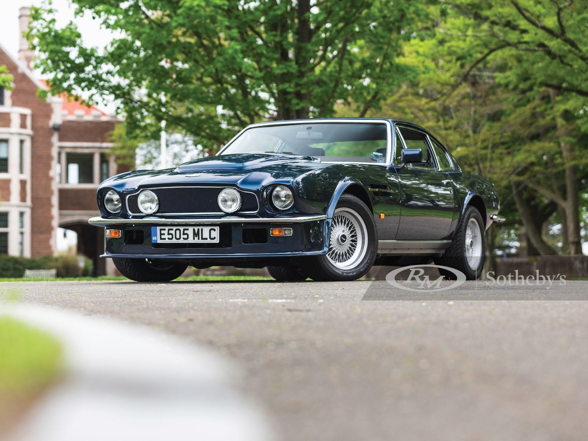 1987 Aston Martin V8 Vantage X Pack Monterey 2019 Rm Sotheby S