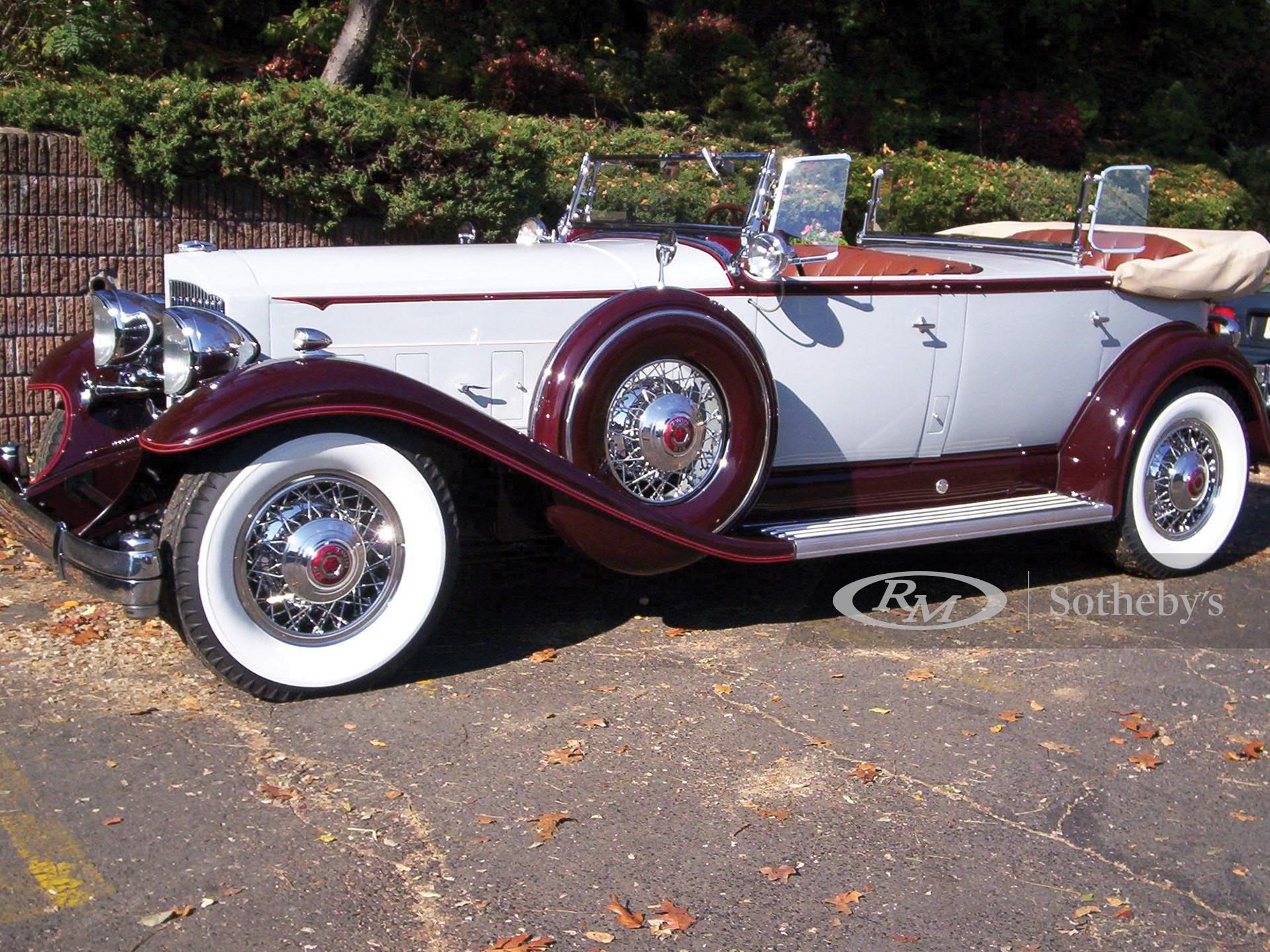 1932 Packard Twin Six Dual Cowl Sport Phaeton