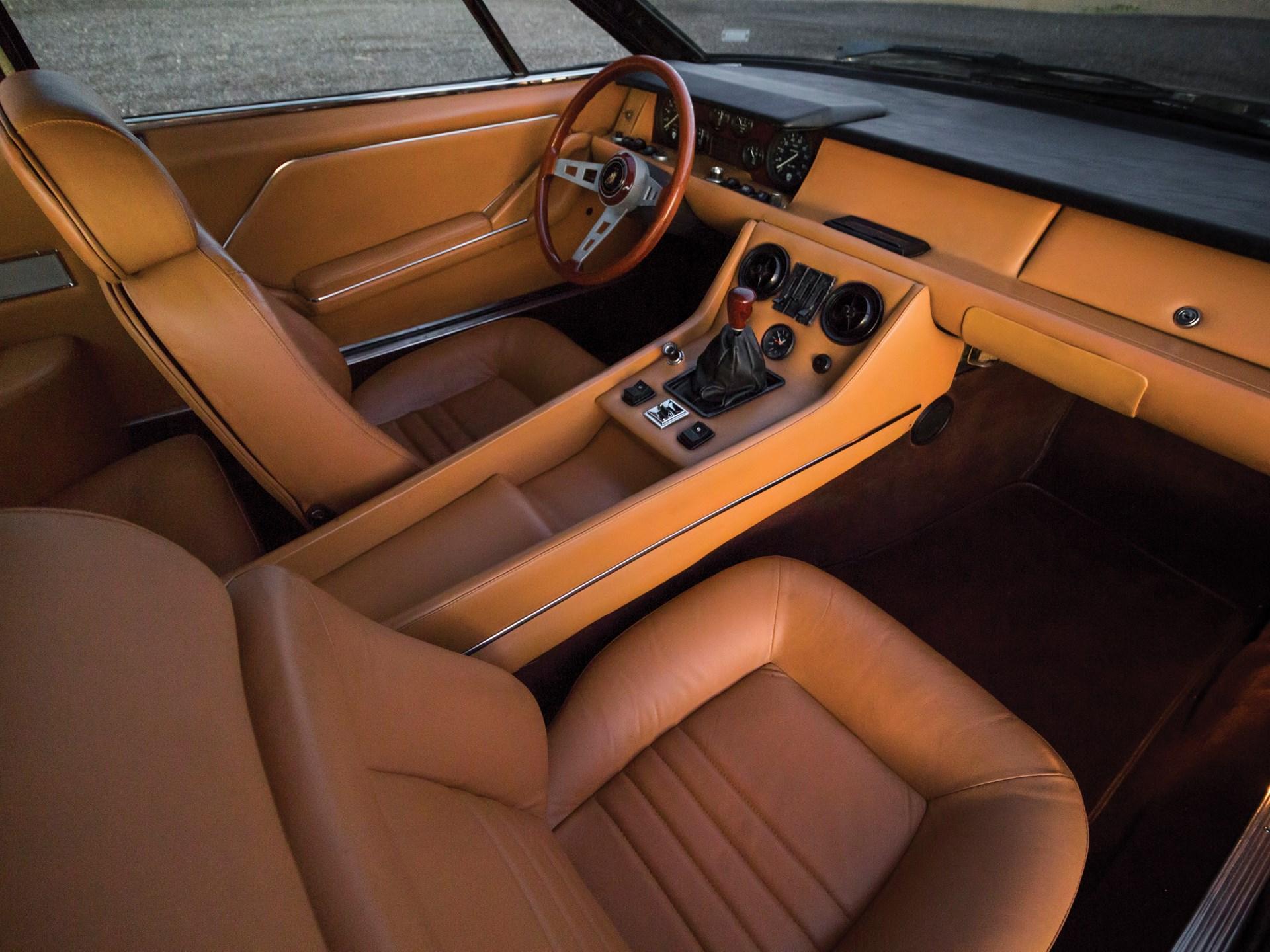1971 Lamborghini Jarama 400 GT by Bertone
