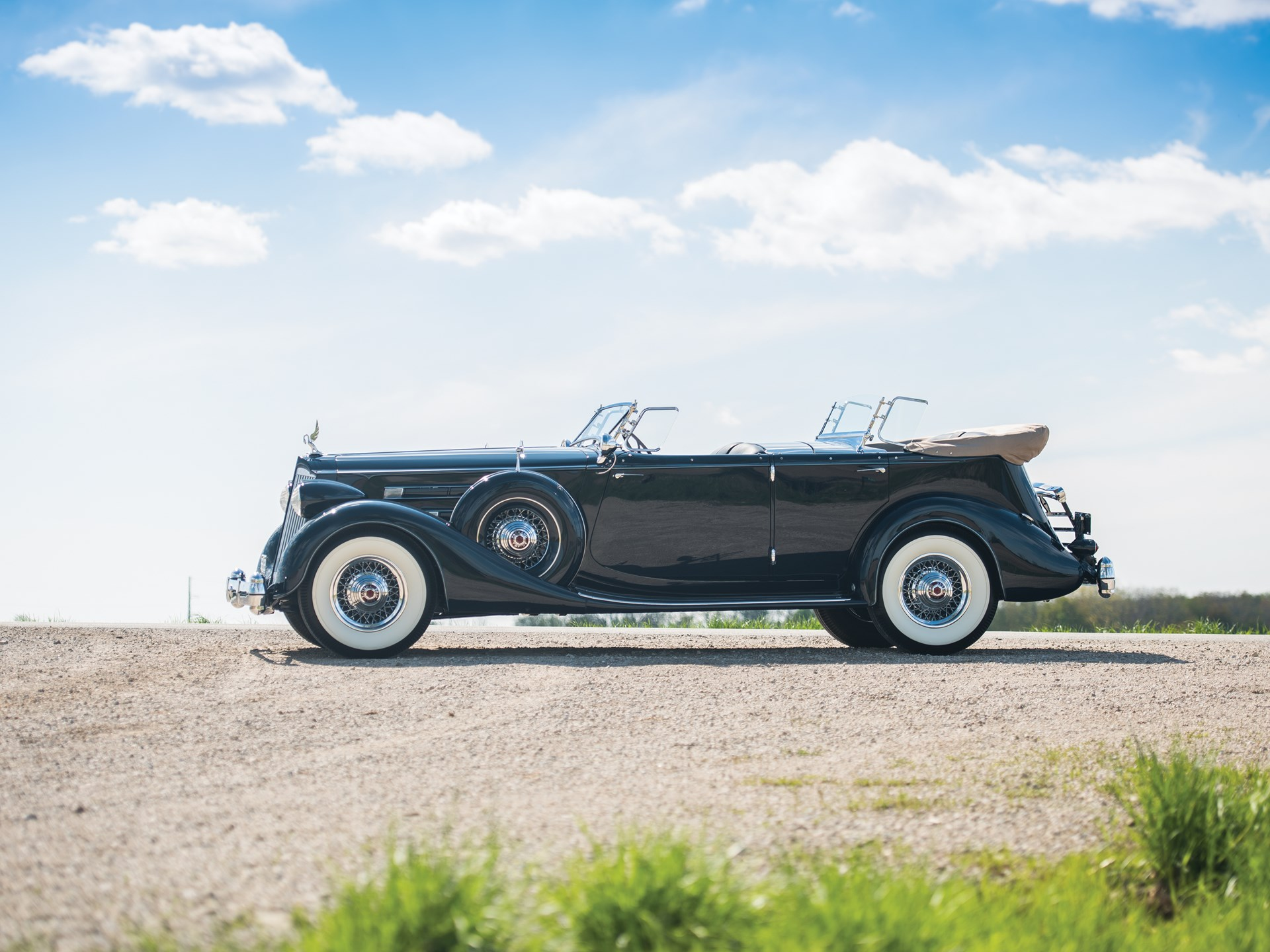1936 Packard Twelve Sport Phaeton