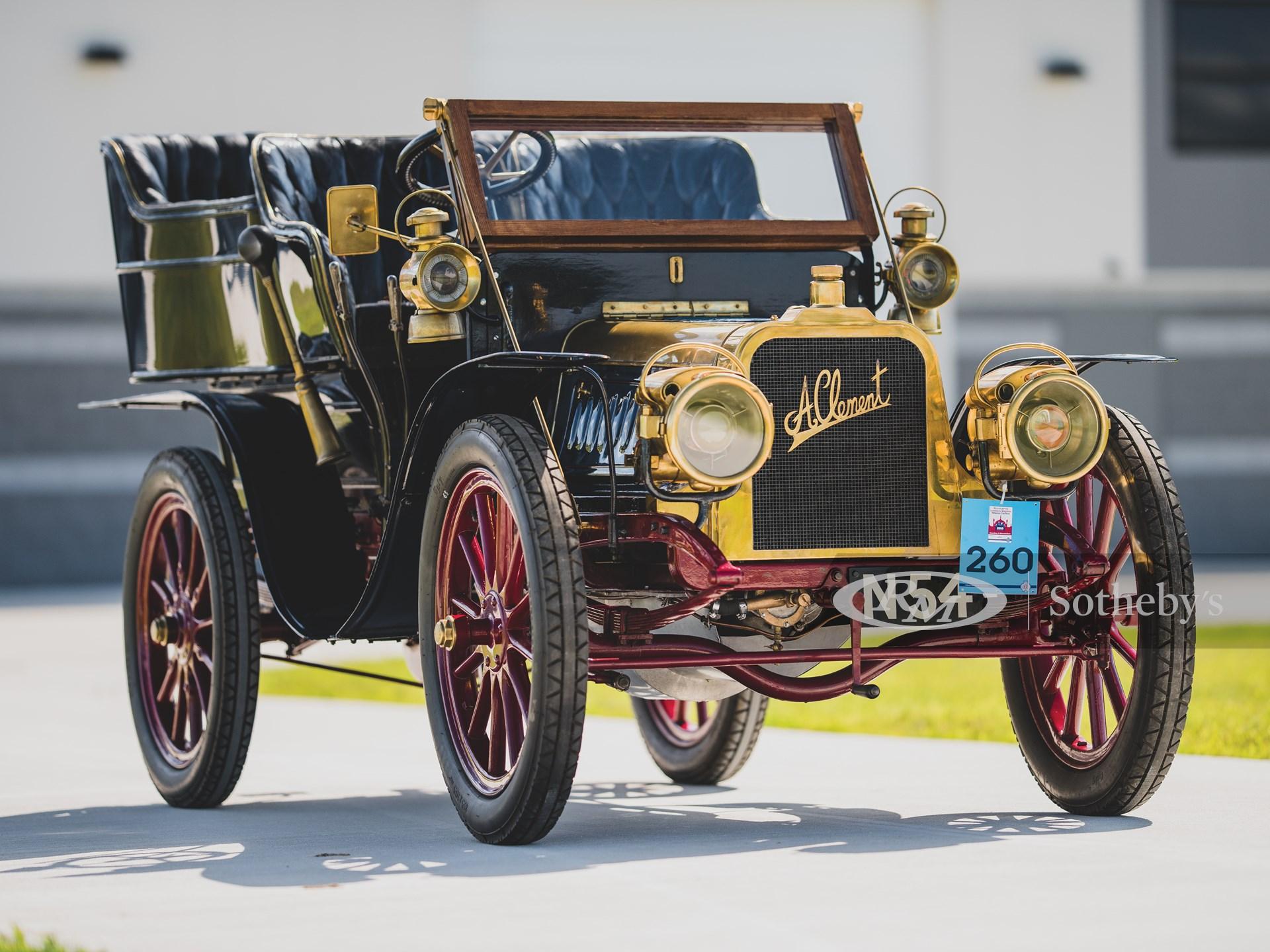 1903 Clément 12/16 HP Rear-Entrance Tonneau  -