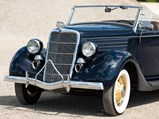 1935 Ford V-8 DeLuxe Roadster  - $
