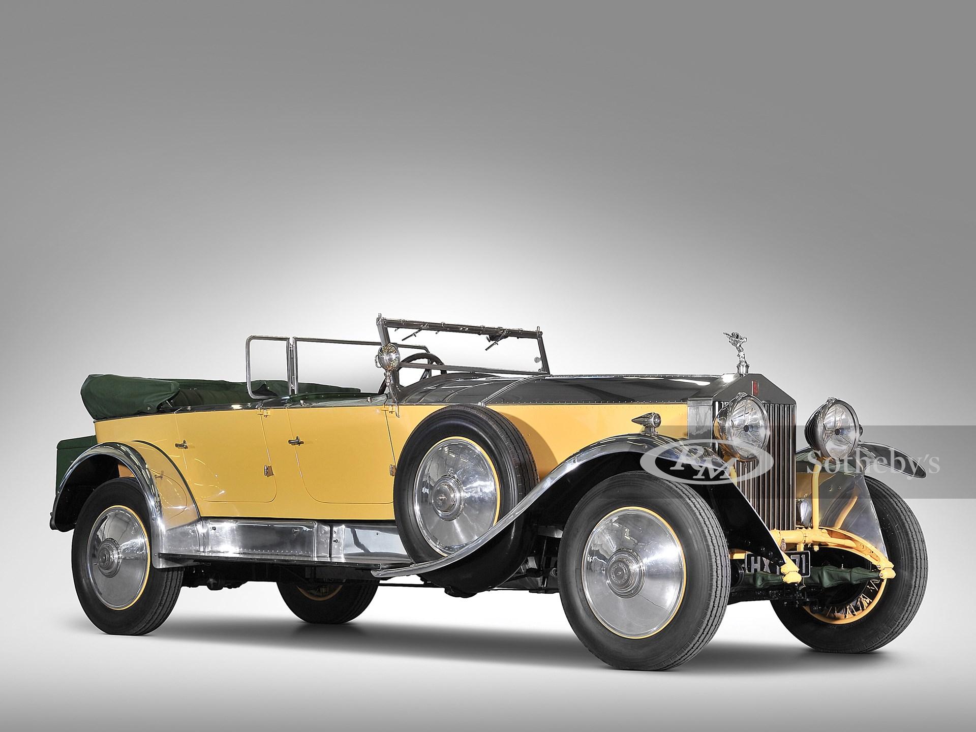 1929 Rolls-Royce Phantom I Tourer by Barker -