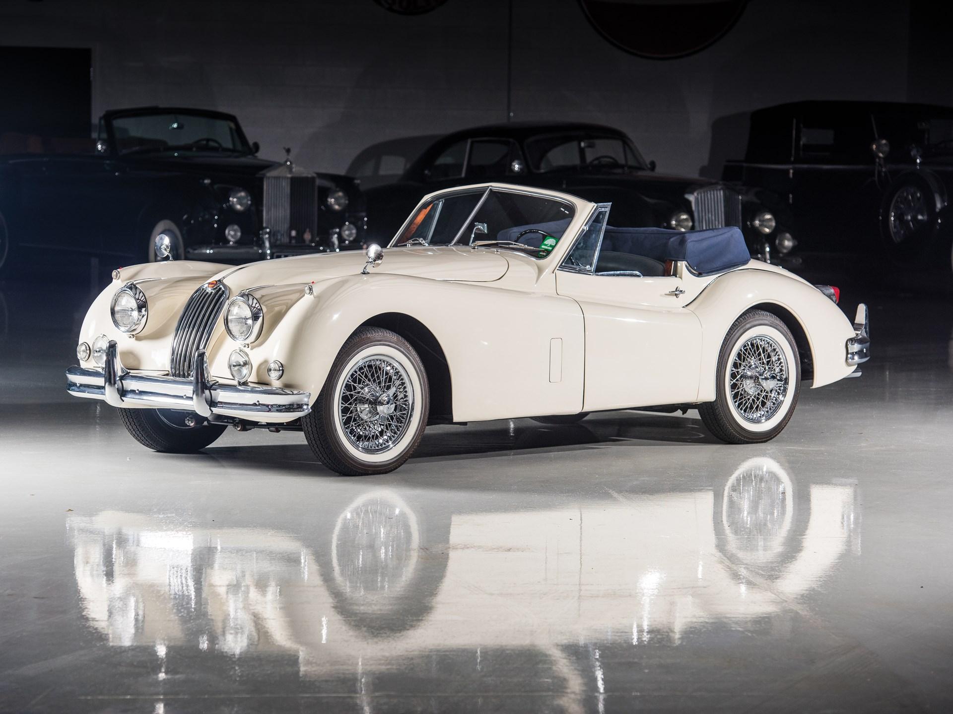 rm sotheby 39 s 1956 jaguar xk 140 mc drophead coupe. Black Bedroom Furniture Sets. Home Design Ideas