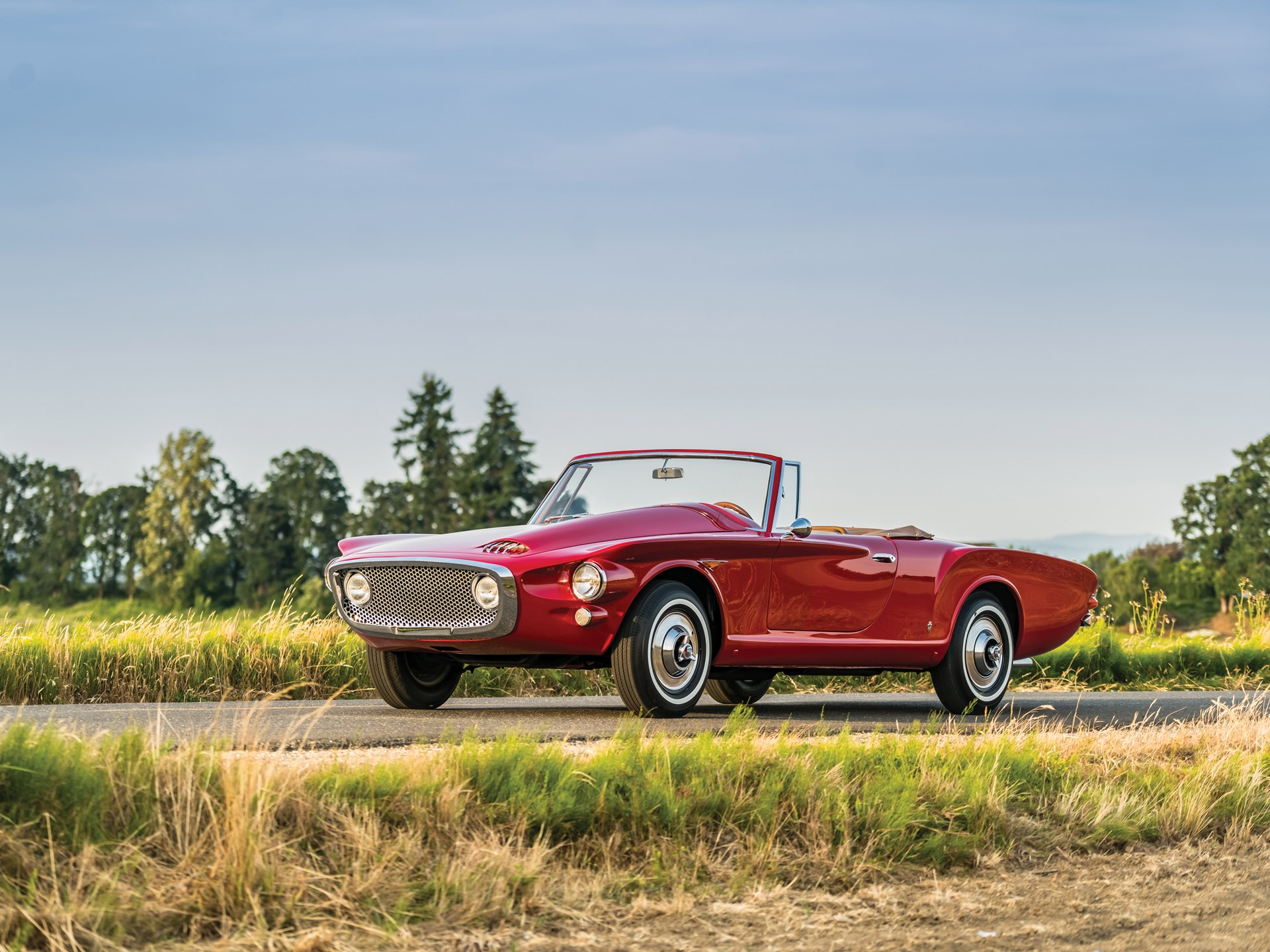 rm sotheby s 1961 plymouth asimmetrica roadster by ghia monterey