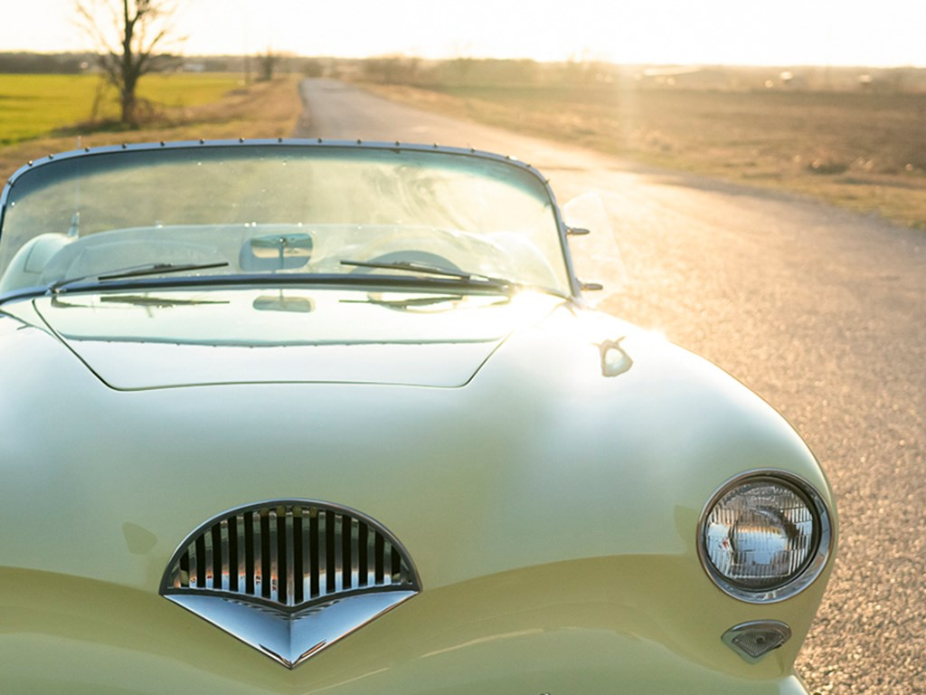1954 KaiserDarrin Roadster offered at RM Sothebys Online Only Open Roads February Auction 2021