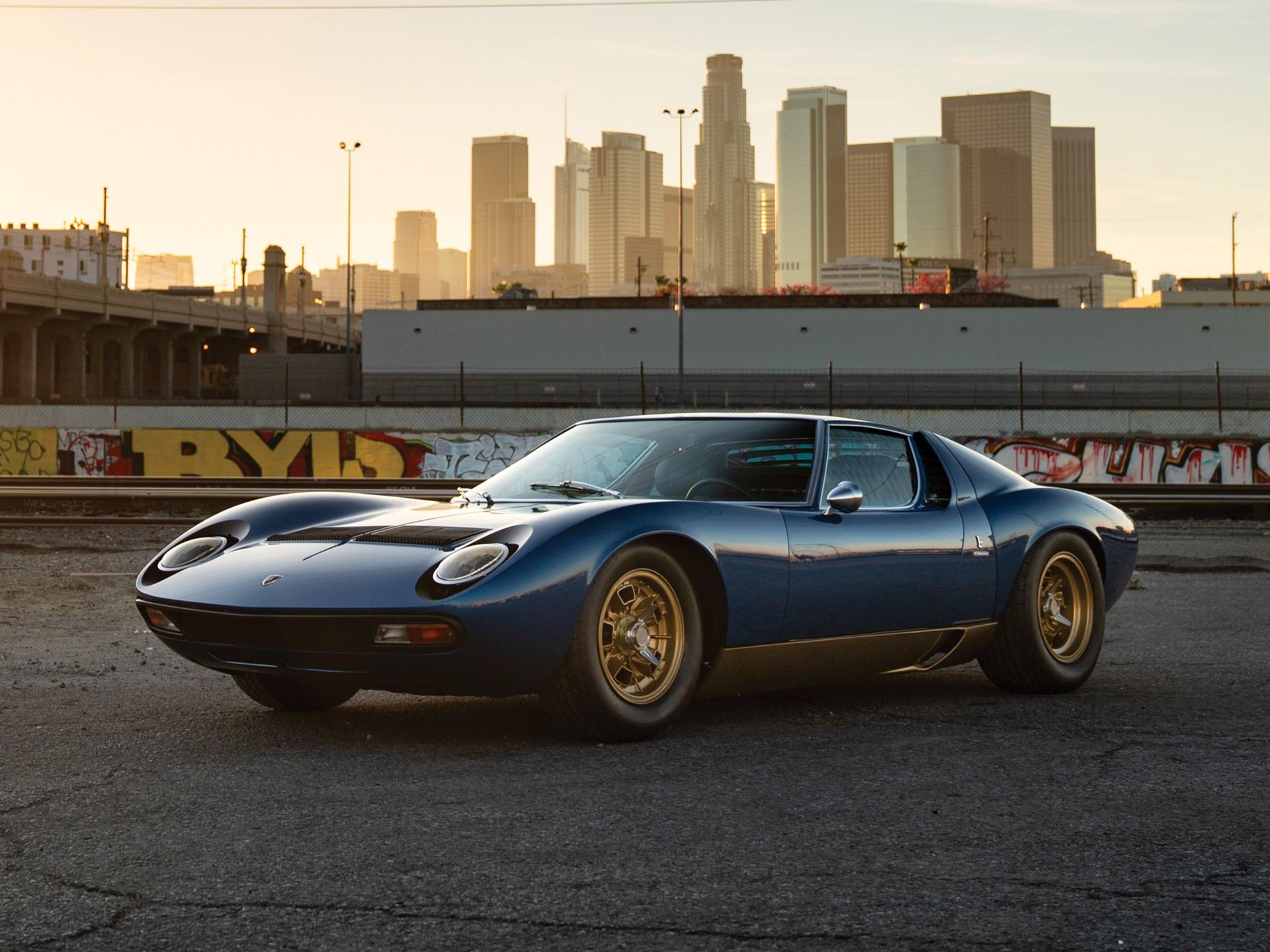 Rm Sotheby S 1971 Lamborghini Miura P400 Sv By Bertone The