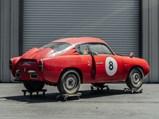 1959 Fiat-Abarth 750 GT 'Double Bubble' Zagato - $