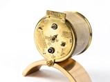 Desk Clocks and Vintage Brake Gauge - $