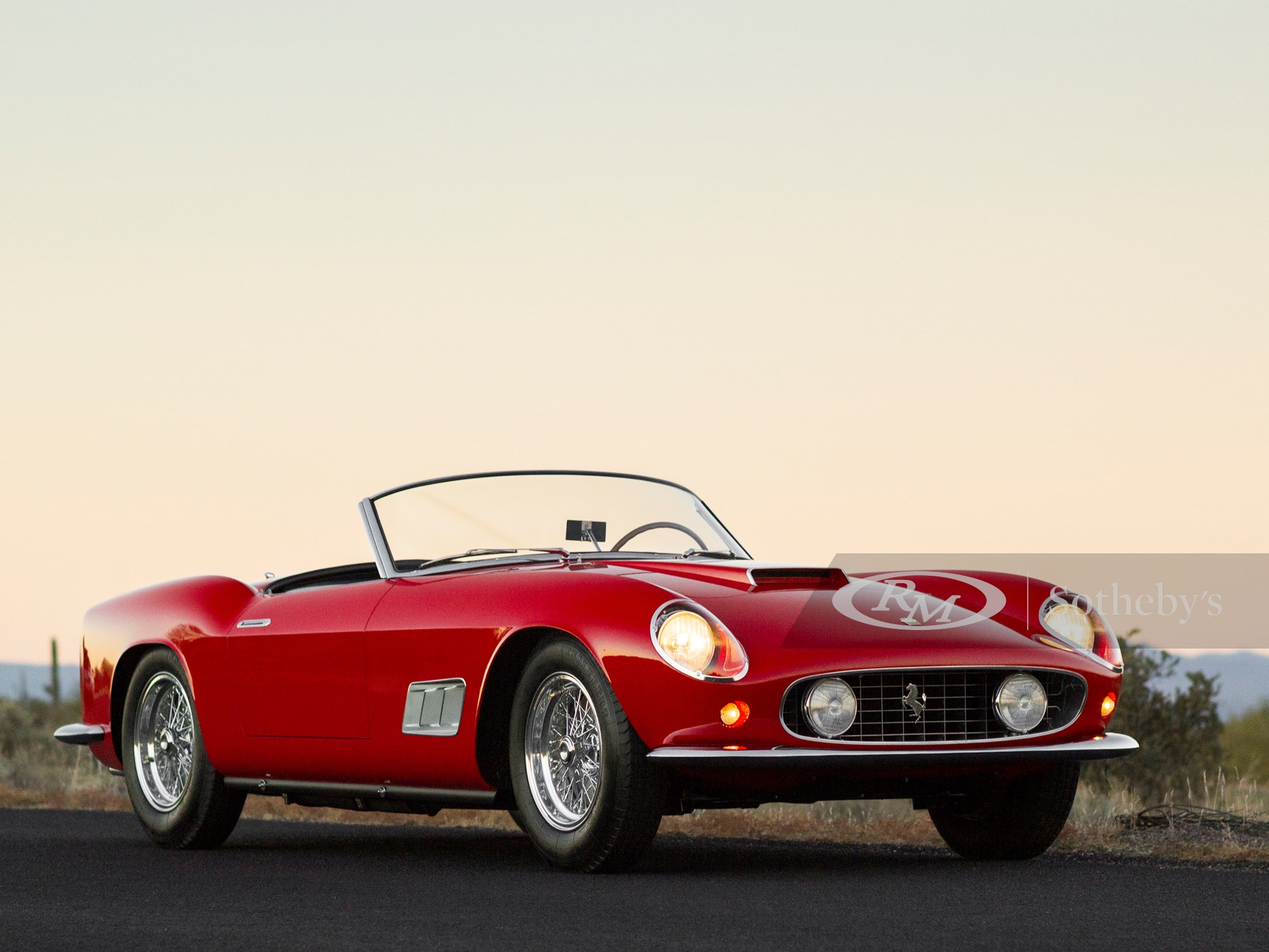 1958 Ferrari 250 Gt Lwb California Spider By Scaglietti Arizona 2014 Rm Sotheby S