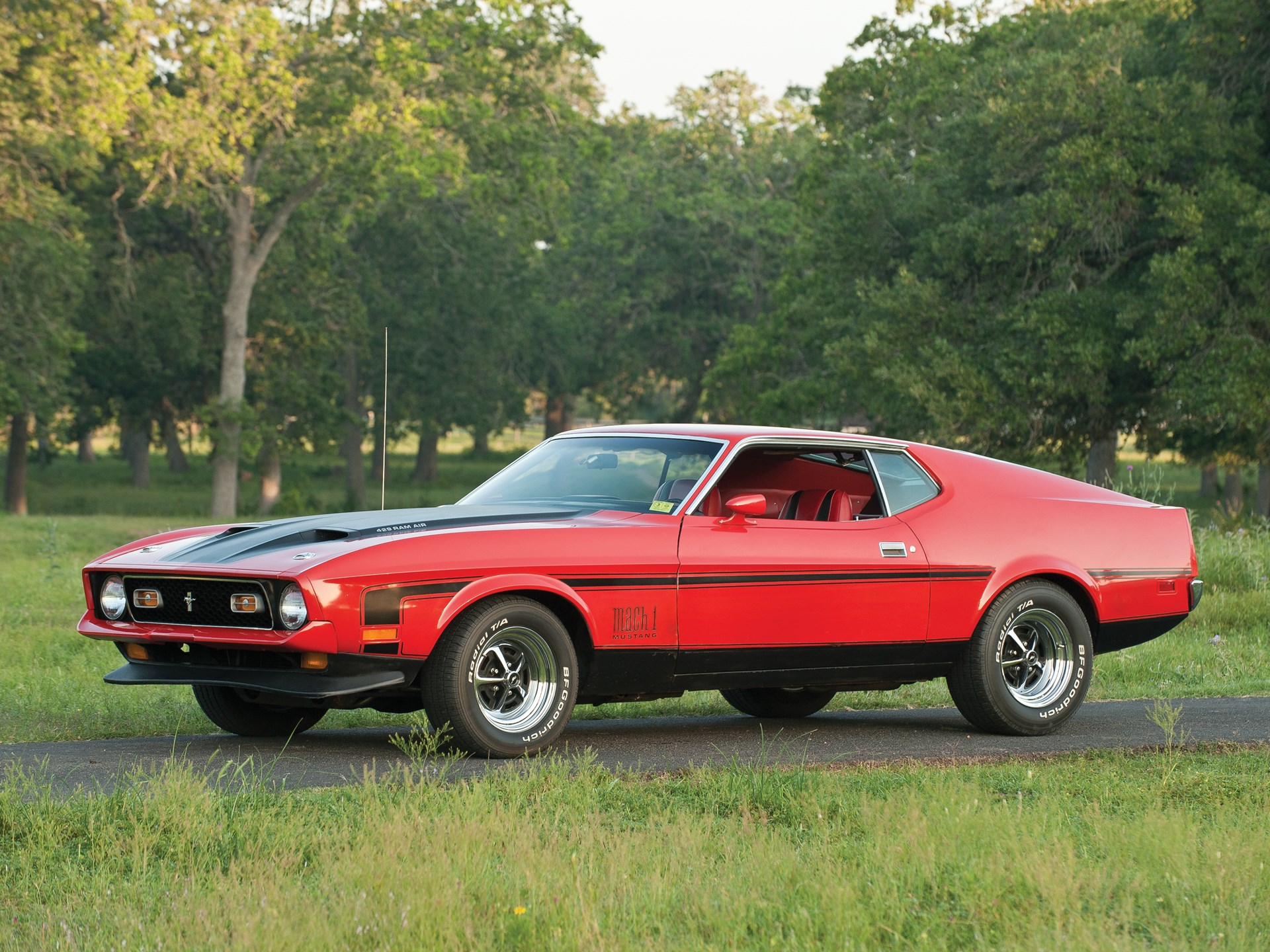 Rm Sothebys 1971 Ford Mustang Mach 1 429 Sportsroof The Charlie For Sale