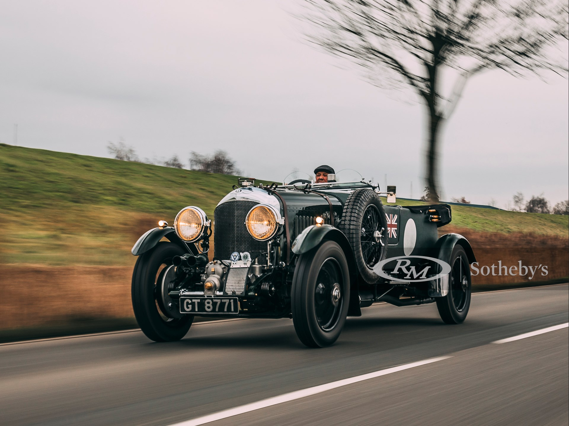 1931 Bentley 4½-Litre Supercharged Tourer