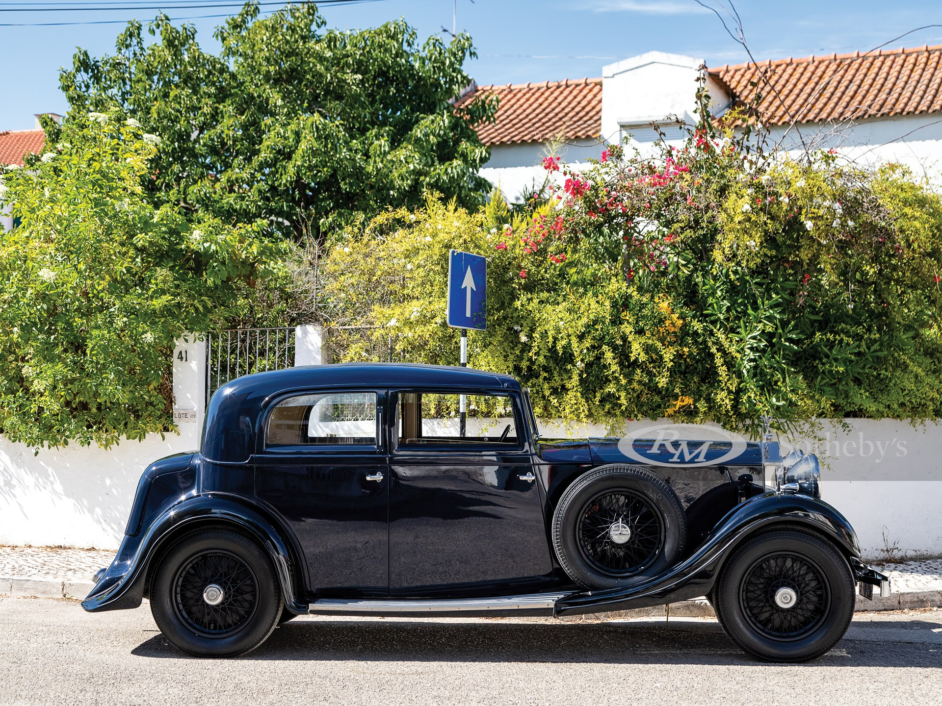 1934 Rolls-Royce 20/25 HP Saloon by Rippon Brothers -