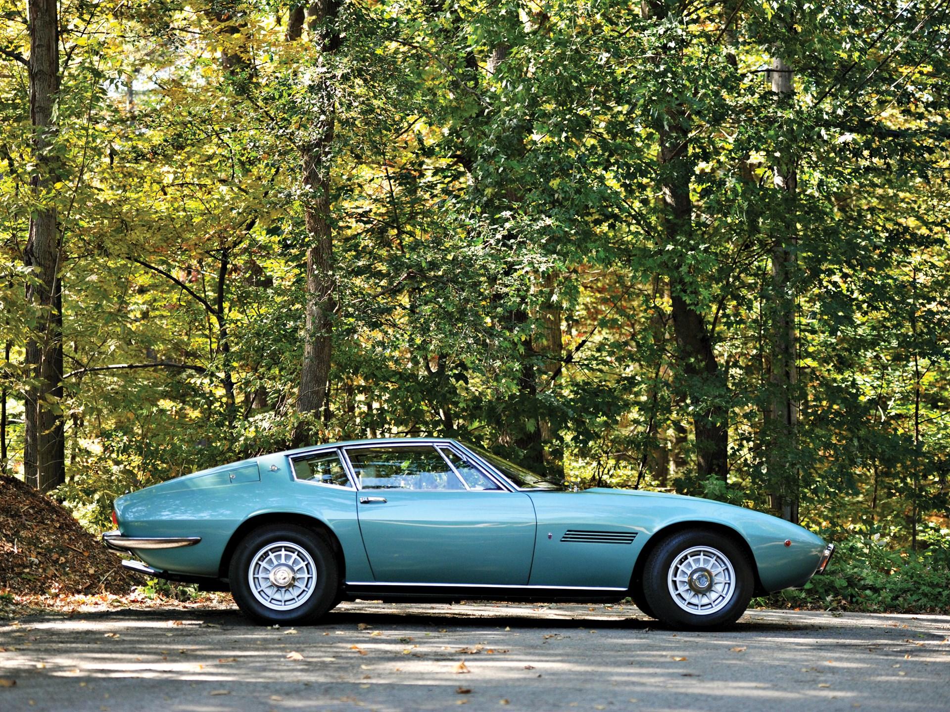 1972 Maserati Ghibli SS 4.9 Coupe by Ghia