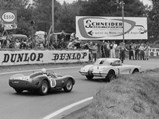 1960 Chevrolet Corvette LM  - $The #1 Corvette is pursued by the eventual race-winning #11 Ferrari TR59 of Olivier Gendebien and Paul Frère.
