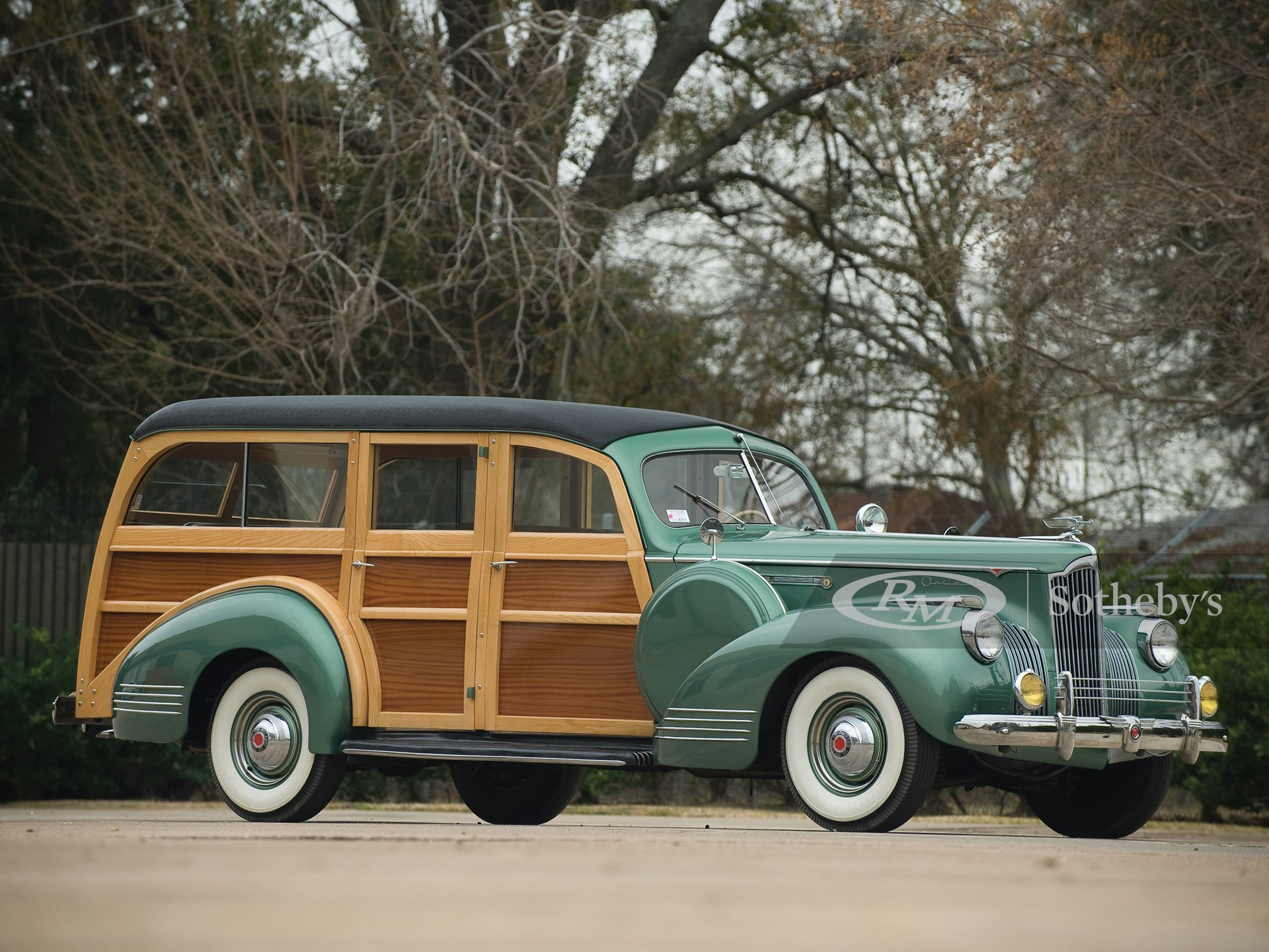 1941 Packard 120 Deluxe Station Wagon by Hercules