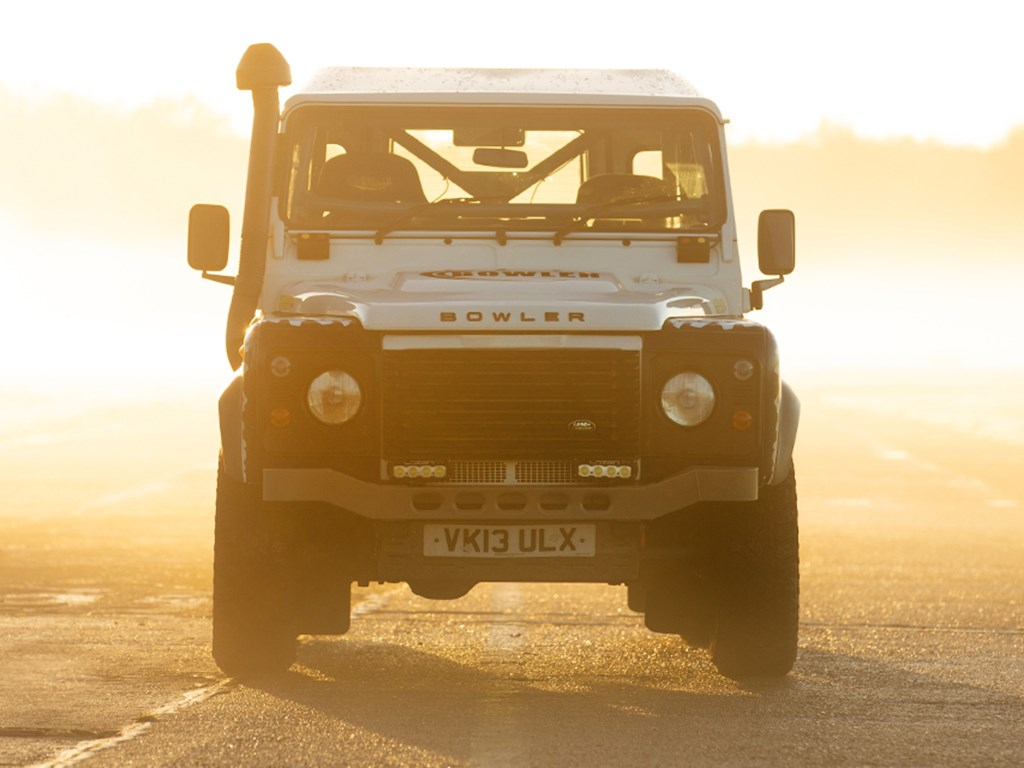 2013 Land Rover Defender 90 Hardtop TD Challenge by Bowler offered at RM Sothebys Paris Live Auction 2021
