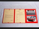 Ferrari Enzo Certificate of Origin with Presentation Folio - $