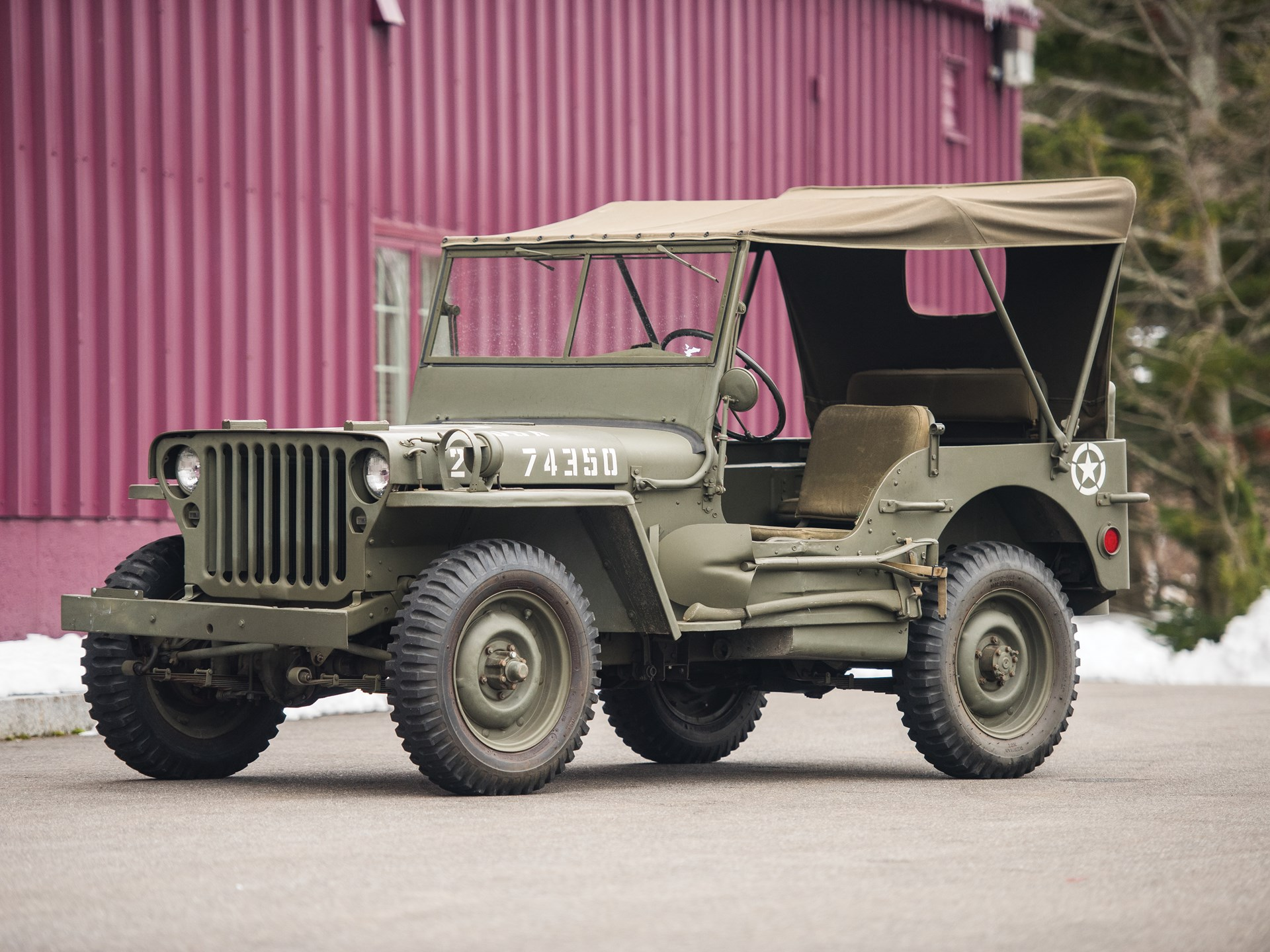 RM Sotheby's - 1943 Ford GPW Army Jeep | The Dingman Collection