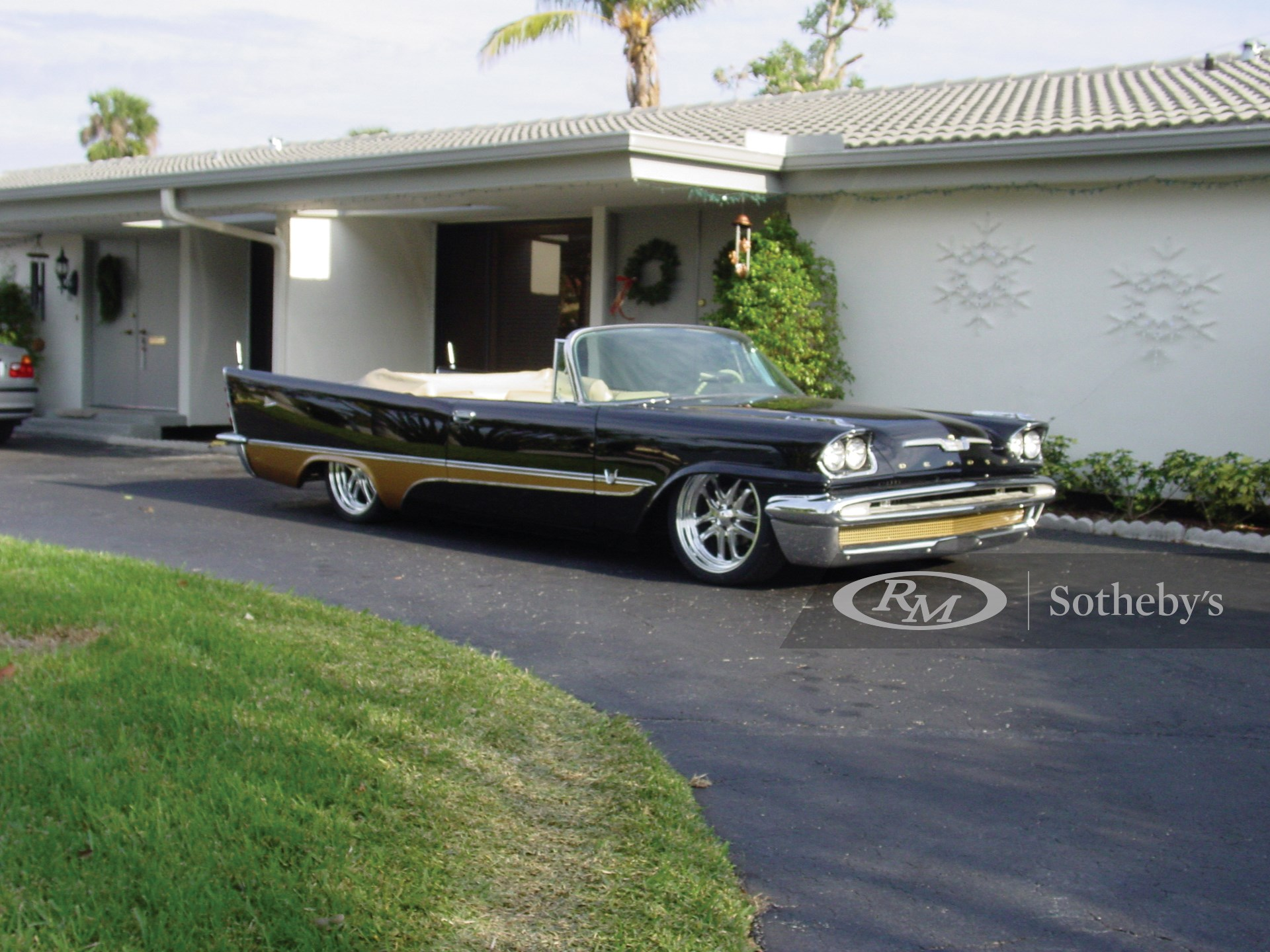 1957 Desoto Adventurer Custom Convertible  -