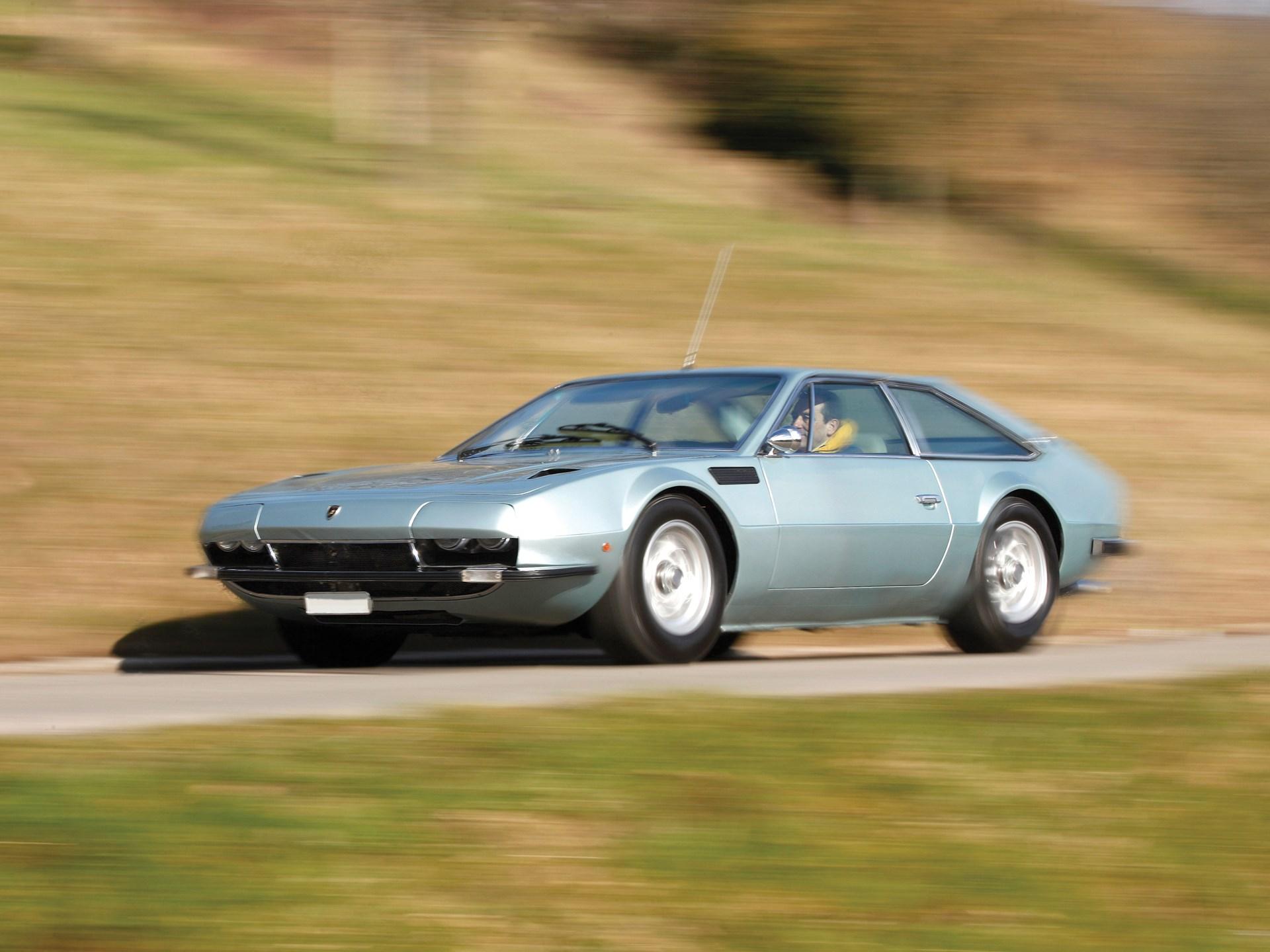 1970 Lamborghini Jarama 400 GT by Bertone