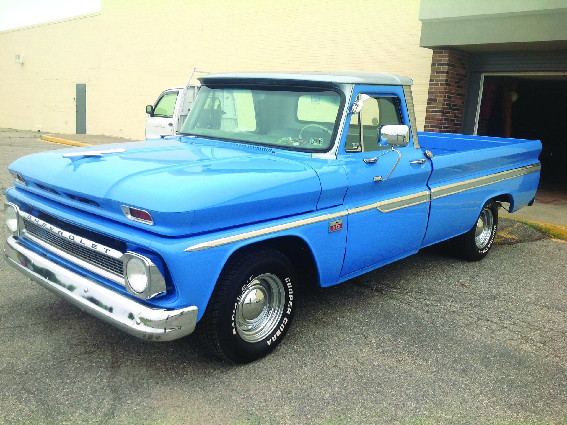 Rm Sothebys 1966 Chevrolet C10 Fleetside Auburn Fall 2017 Pick Up