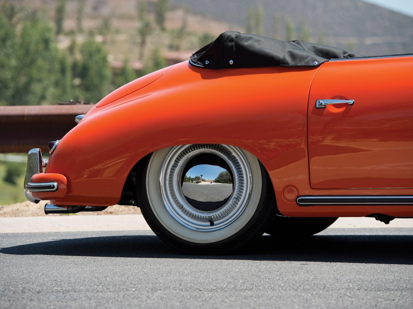 1955 Porsche 356 Pre-A 1500 Continental Cabriolet by Reutter