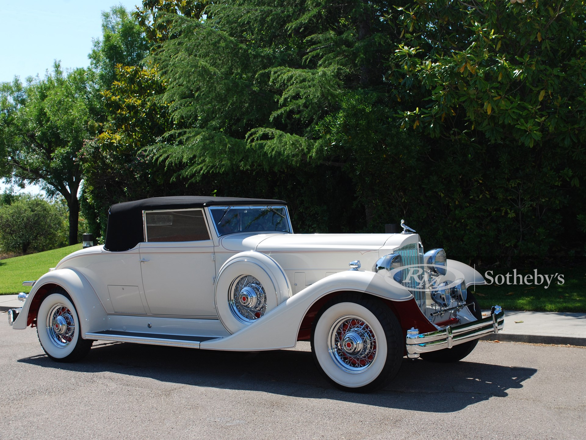 1933 Packard Super Eight Coupe Roadster
