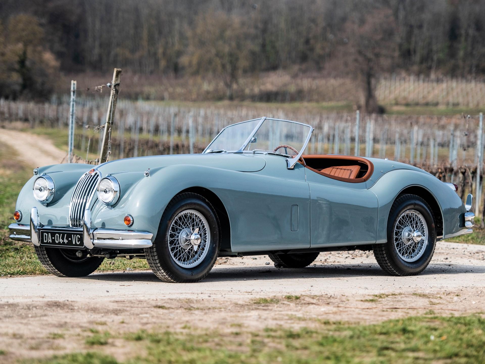 1956 Jaguar XK 140 SE Roadster | Essen 2019 | RM Sotheby's