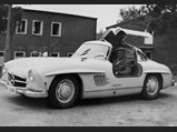 1954 Mercedes-Benz 300 SL Gullwing  - $Harry Tilgmann pictured with chassis no. 4500034 in Sweden.