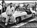 1954 Mercedes-Benz 300 SL Gullwing  - $Flemming Uziel poses with Chassis no. 4500034 circa 1980.