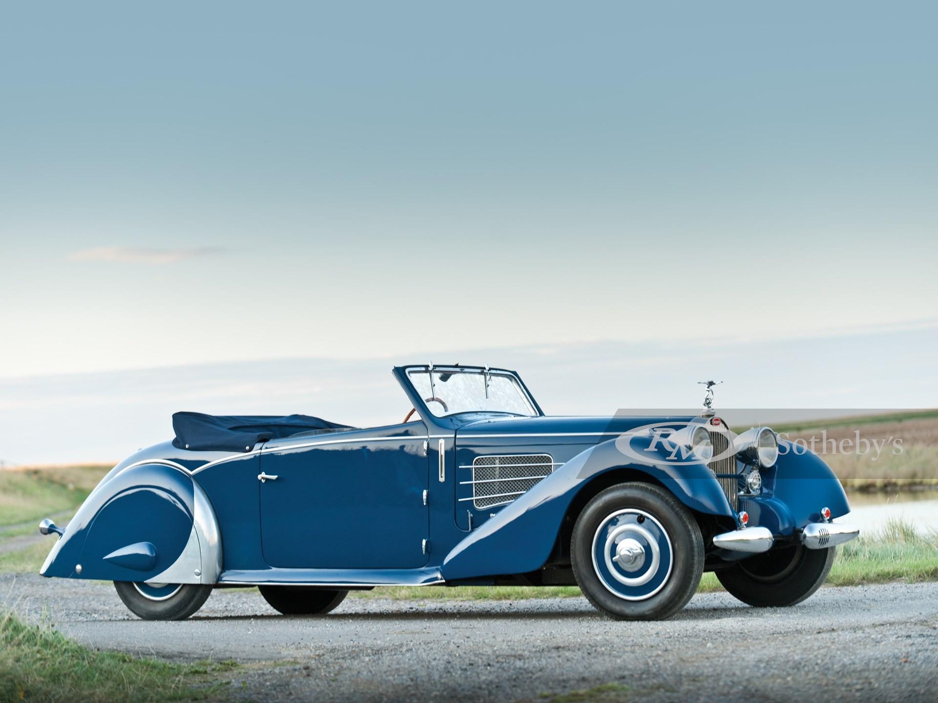 1937 Bugatti Type 57 Stelvio Cabriolet by Gangloff