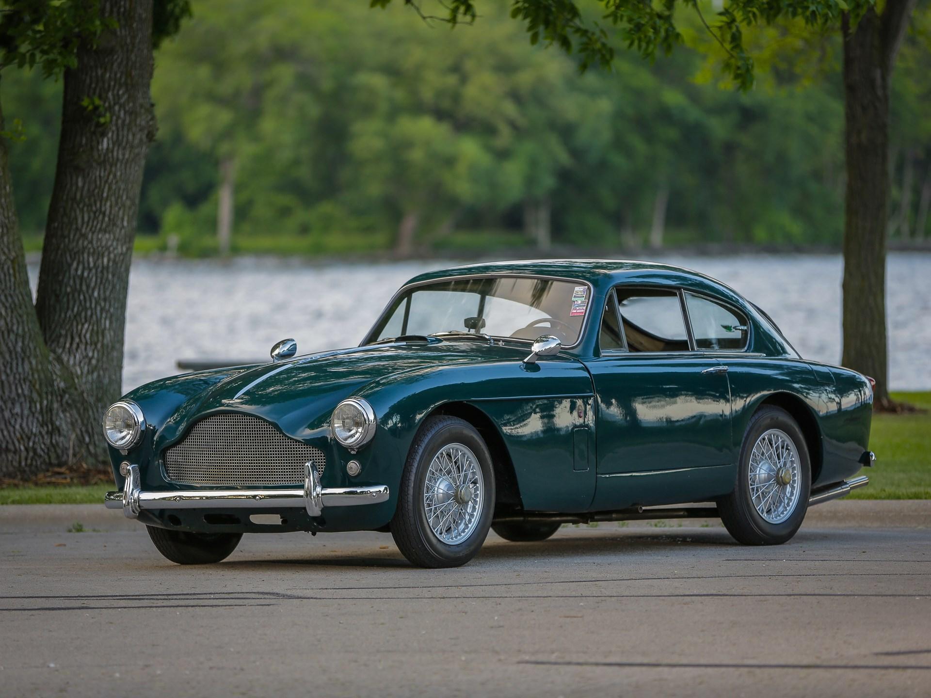 RM Sothebys Aston Martin DB Mk III London - 1957 aston martin