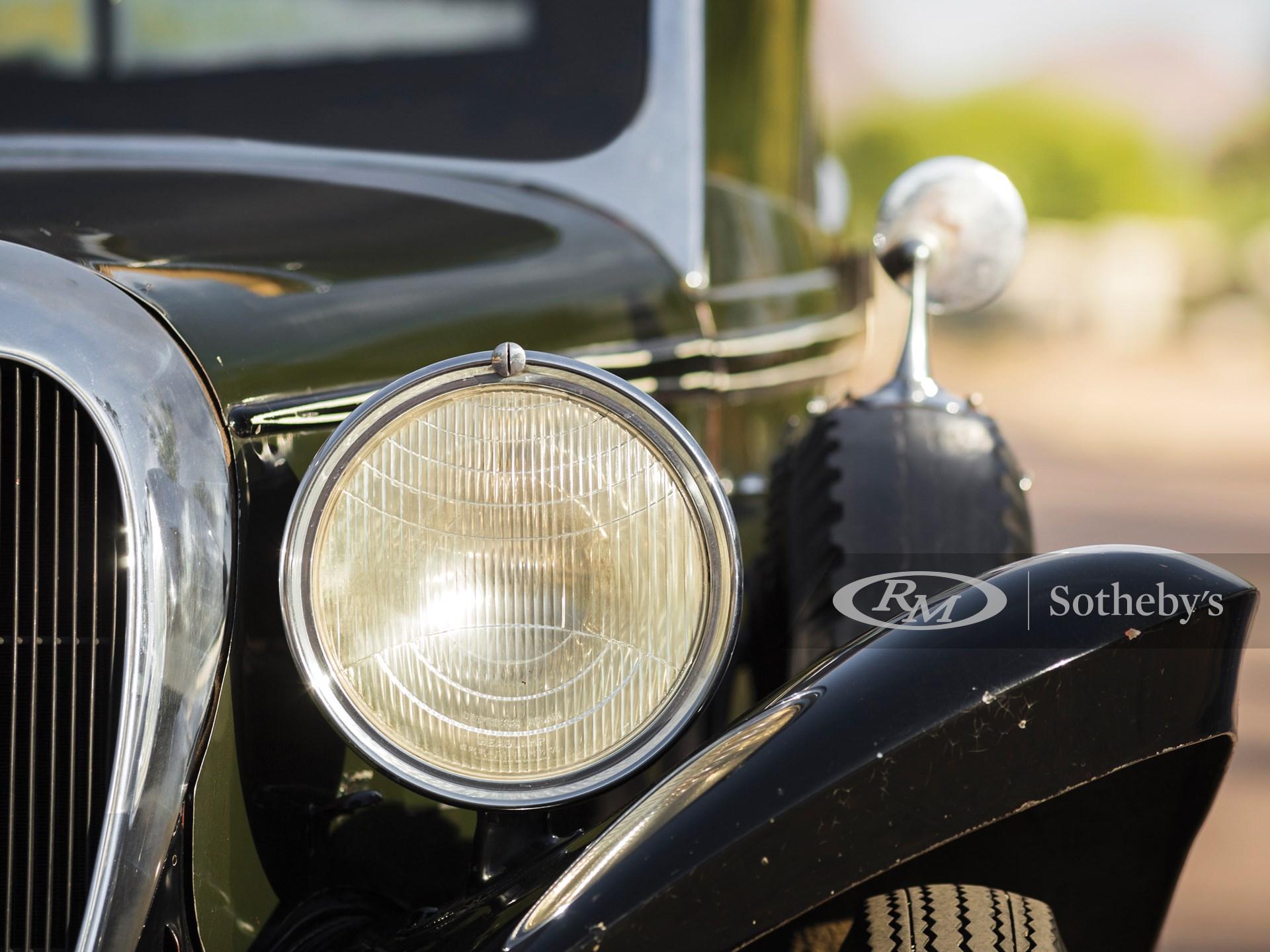 1934 Brewster-Ford Convertible Sedan  -